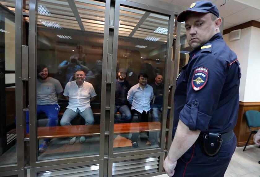 Defendants convicted in Politkovskaya murder trial