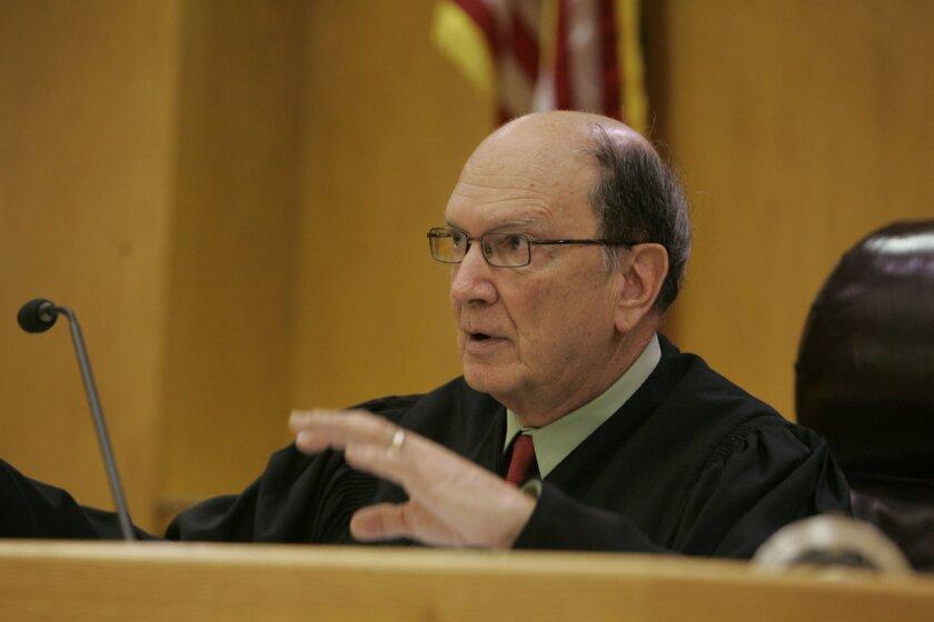 East County Superior Court Judge Herbert Exarhos [Union-Tribune file]