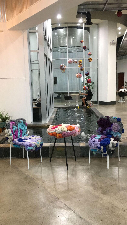 "Threadwinners' ""zer | o"" exhibit at WorkWell"