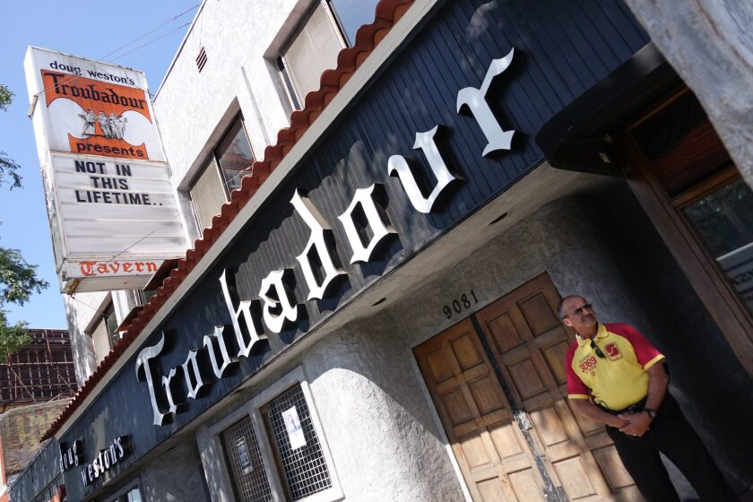 The Troubadour's 500-capacity, general admission setup makes it a great place to see a show, but poorly suited for social distancing.