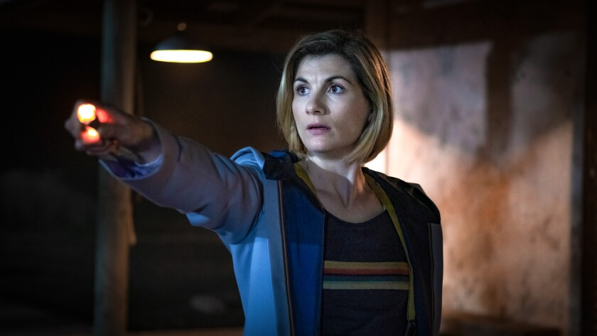 """Jodie Whittaker in """"Doctor Who"""""""