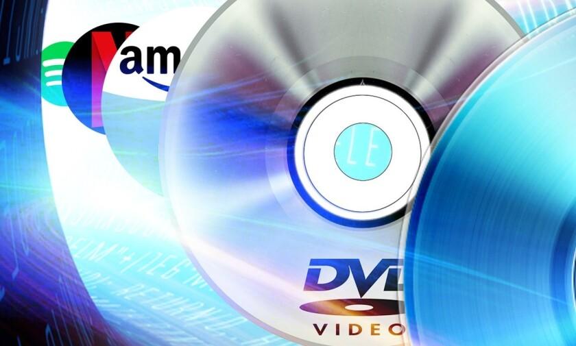CD, DVD, Blu-ray, reliquia, extinción, Netflix, Amazon, Hulu, streaming