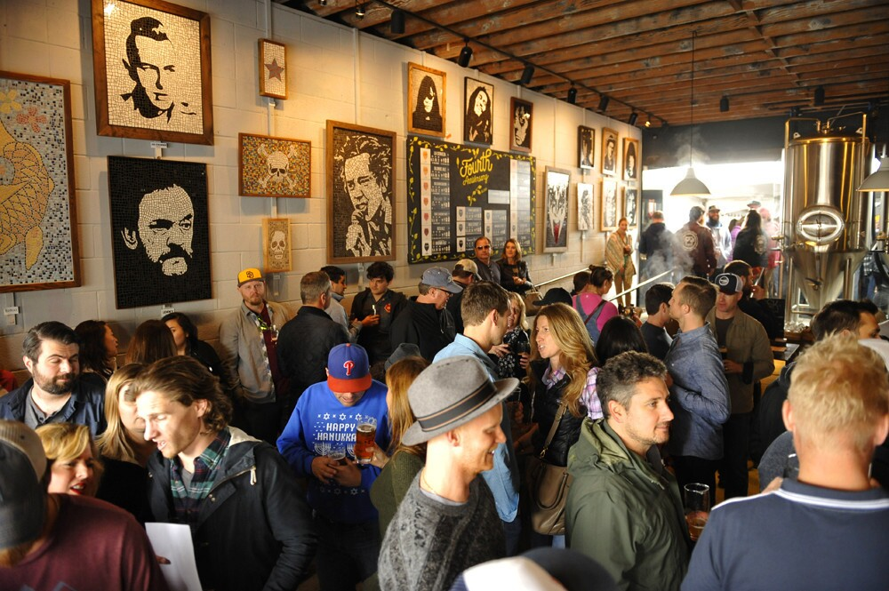 Culture Brewing celebrated its fourth anniversary on Feb. 18, 2017 with a more than 30 styles on tap, including casks, rare styles, special releases and collaborations at its Solana Beach location. (Jared Gase)