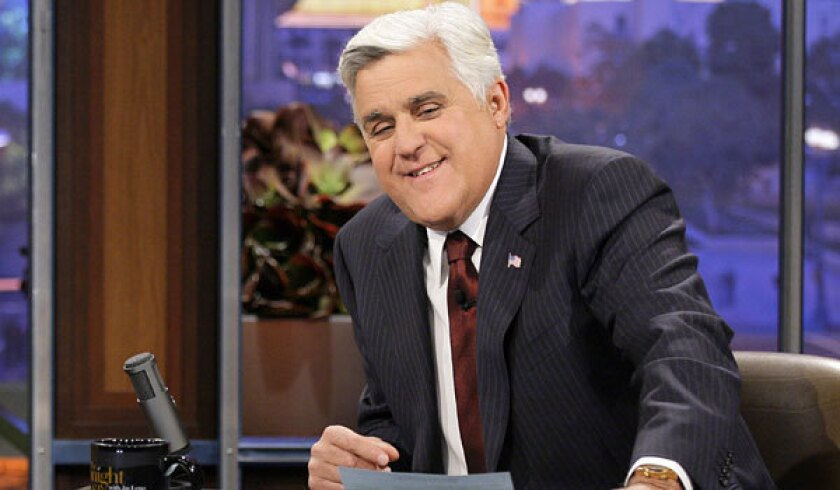 """Jay Leno told more jokes about Bill Clinton than any other politician during his years as """"Tonight Show"""" host."""