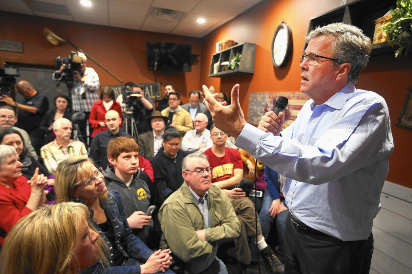 Jeb Bush in Iowa