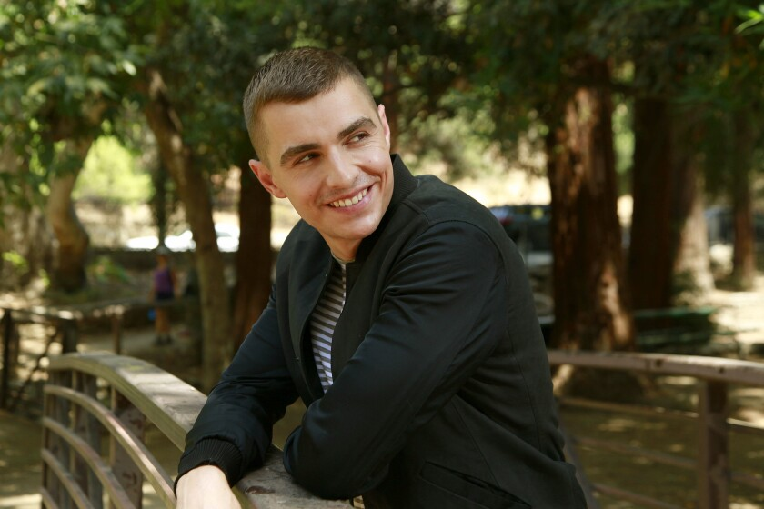 """Dave Franco, currently starring in """"Nerve,"""" takes in the surroundings in Griffith Park."""
