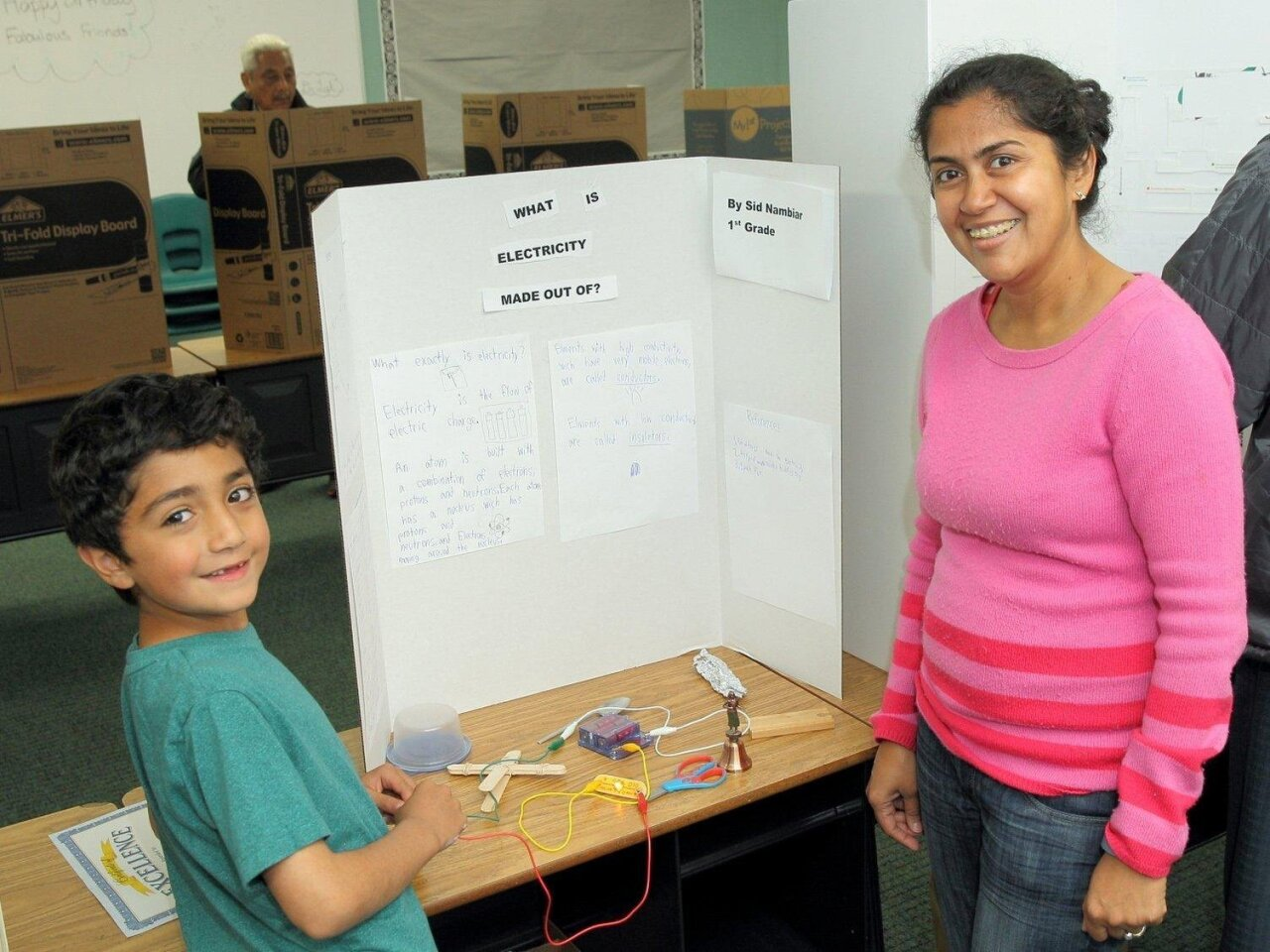 Bardia and Manali learn about electricity