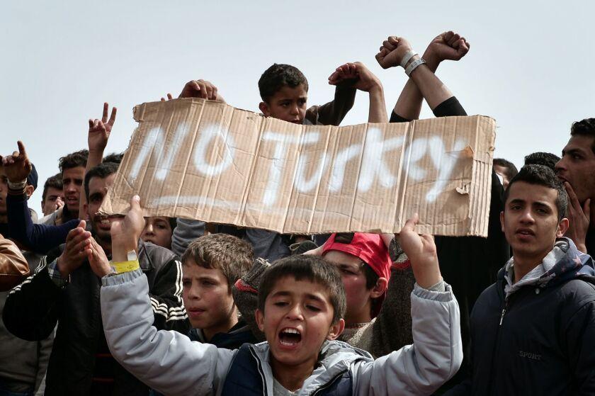 Migrants in Greece