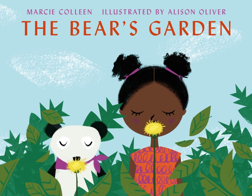 """""""The Bear's Garden,"""" a new book by San Diego author Marcie Colleen, illustrated by Alison Oliver"""
