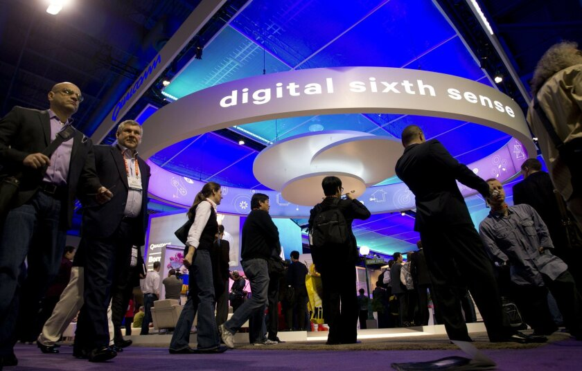 San Diego wireless giant believes future mobile devices wil provide users with a digital sixth sense