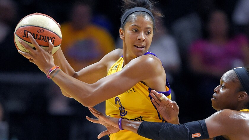 Sparks forward Candace Parker has only played in seven of 16 games this season.