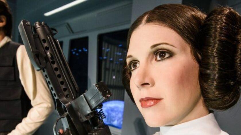"""El mítico personaje de la saga """"La guerra de las galaxias"""", interpretado por Carrie Fisher, quien falleció este martes con 60 años, es todo un ícono de la cinematografía mundial."""