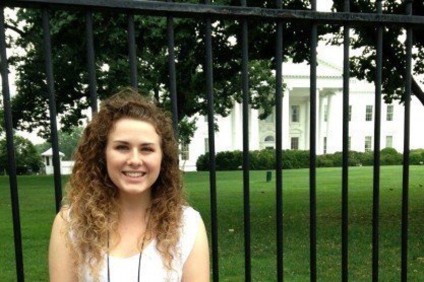 Suzy Eiffert in Washington D.C. / Courtesy photo