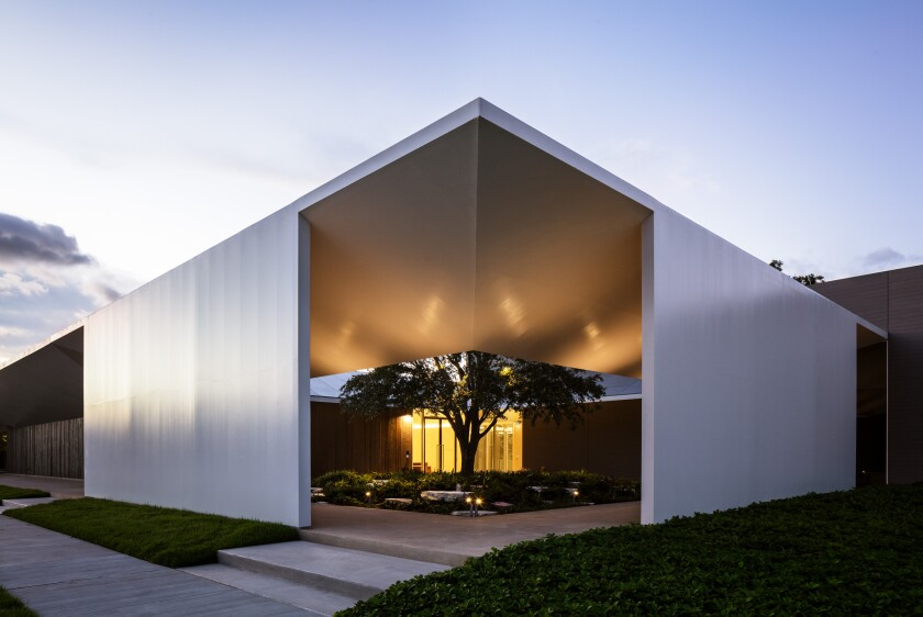 The Menil Drawing Institute by Johnston Marklee