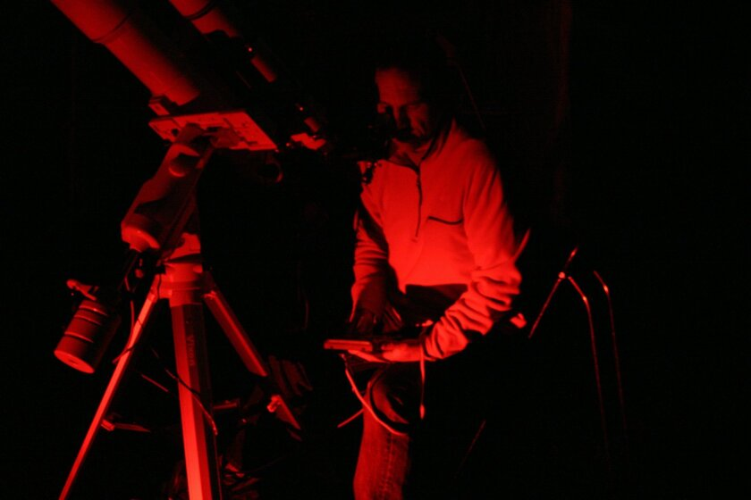 Explore the heavens by telescope at the Julian StarFest.