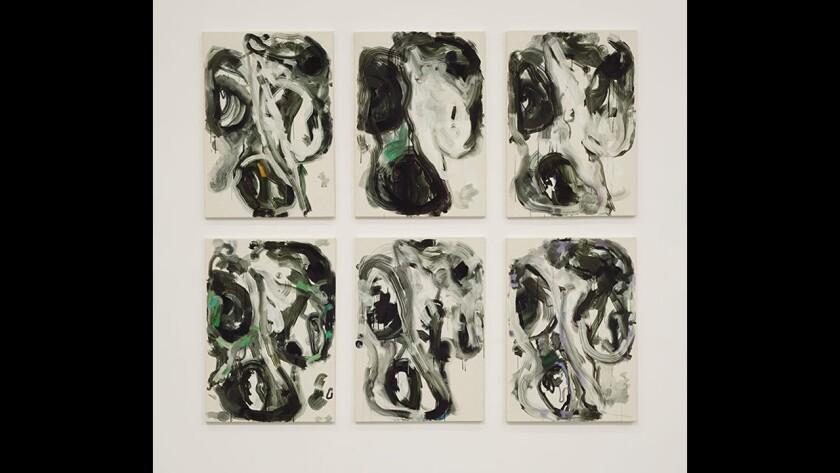 """Siebren Versteeg's """"New Casualist Practicing 2"""" at Greene Exhibitions."""