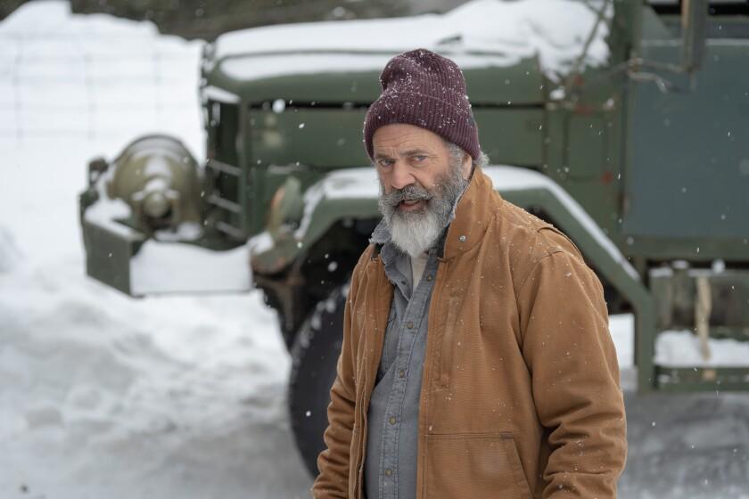 "Mel Gibson as Chris Cringle in ""Fatman"""
