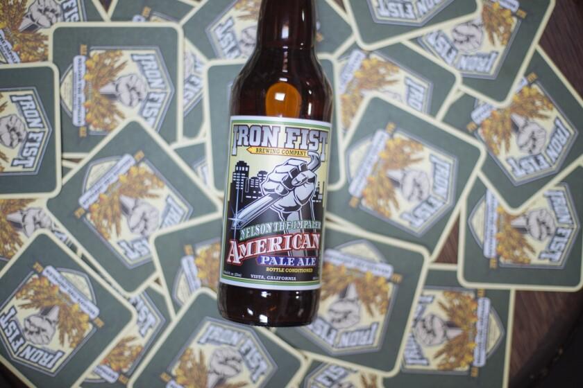 Iron Fist's American Pale Ale.