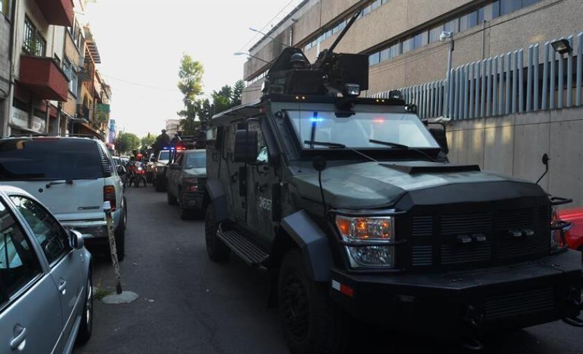 """Dámaso López Serrano, alias el """"Mini Lic"""", ahijado de Joaquín """"el Chapo"""" Guzmán y uno de los posibles sucesores del capo en el cártel de Sinaloa, se declaró hoy culpable de haber importado a Estados Unidos miles de kilos de heroína, metanfetaminas y cocaína. EFE/STR"""