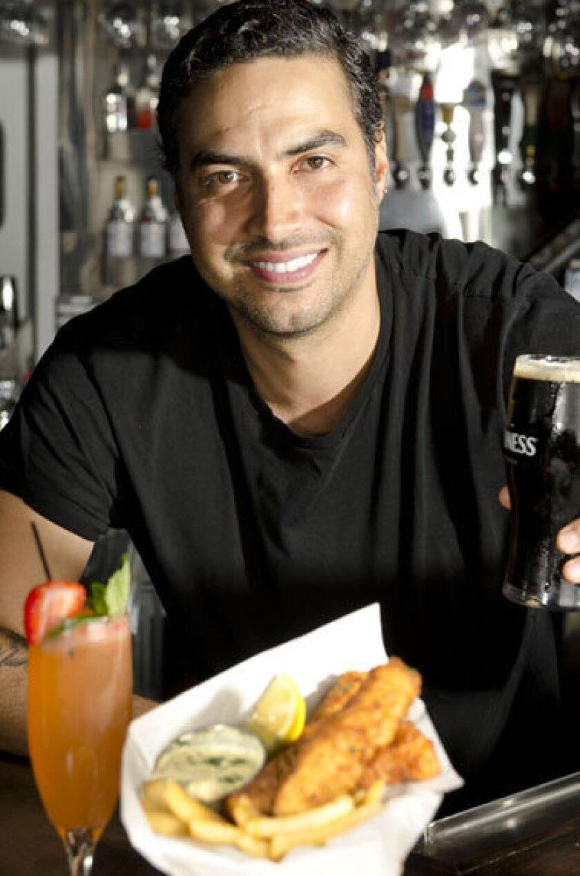 Goal chef Jonah Johnson.