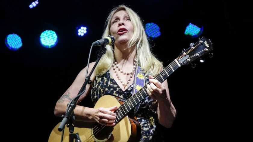 Rickie Lee Jones performs June 1 at Tipitina's in New Orleans.
