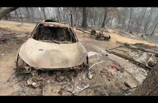 Los incendios forestales no dan tregua en la costa oeste de Estados Unidos