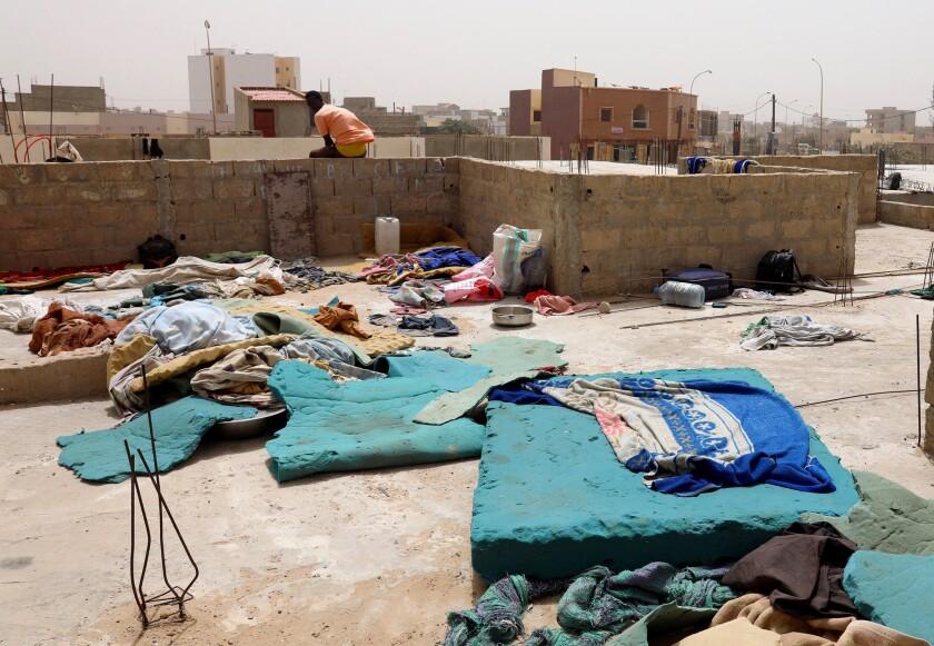 A building on the outskirts of Dakar where Talibés sleep.