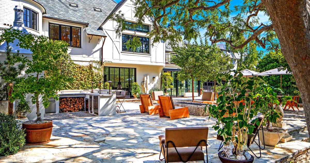 Ellen DeGeneres' storied Beverly Hills mansion sells for $47 million