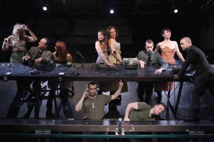 """""""North Atlantic,"""" coming to REDCAT, enters a claustrophobic world on a U.S. aircraft carrier."""
