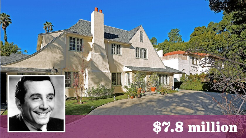 The longtime Beverly Hills home of late actor-singer Al Martino has sold for $7.8 million.