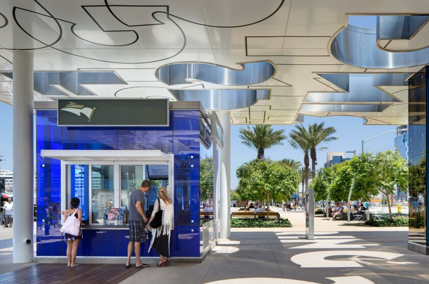 "Joseph Wong Design Associates' first phase of the North Embarcadero Visionary Plan won both urban design honor award and a ""divine detail"" award."