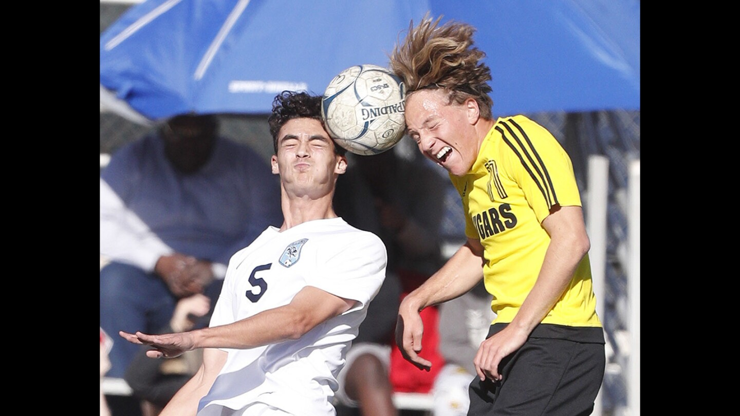 Photo Gallery: Crescenta Valley boys' soccer wins CIF southern Section Division III first round match against Ventura