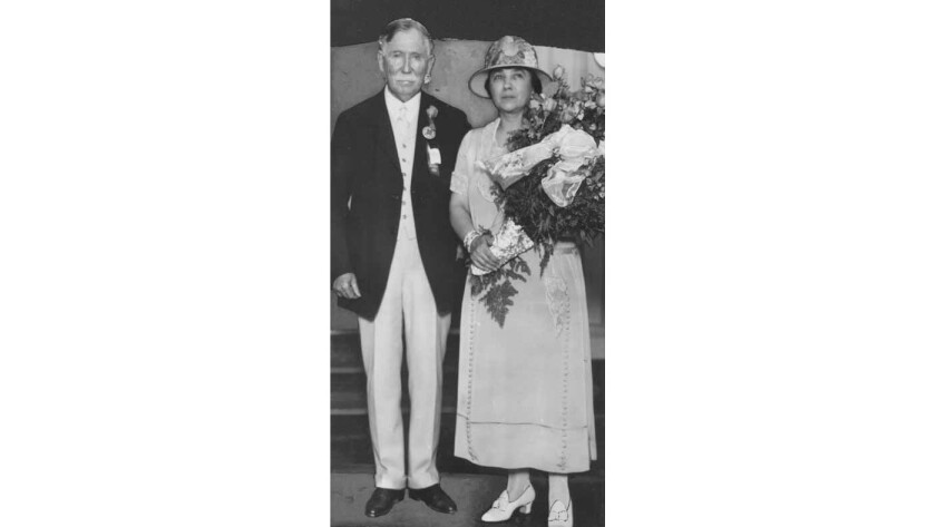 Edward L. Doheny and his wife Estelle in 1926.