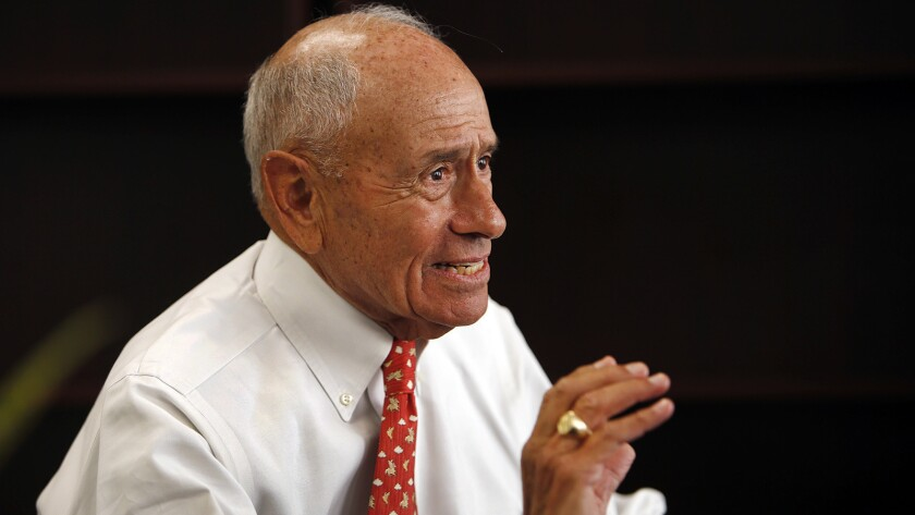 LAUSD Superintendent Ramon C. Cortines warned that the spending plan is tenuously balanced .