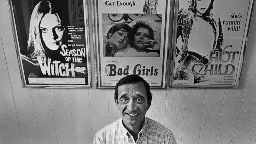 Jack Harris in his Malibu office in 1980.
