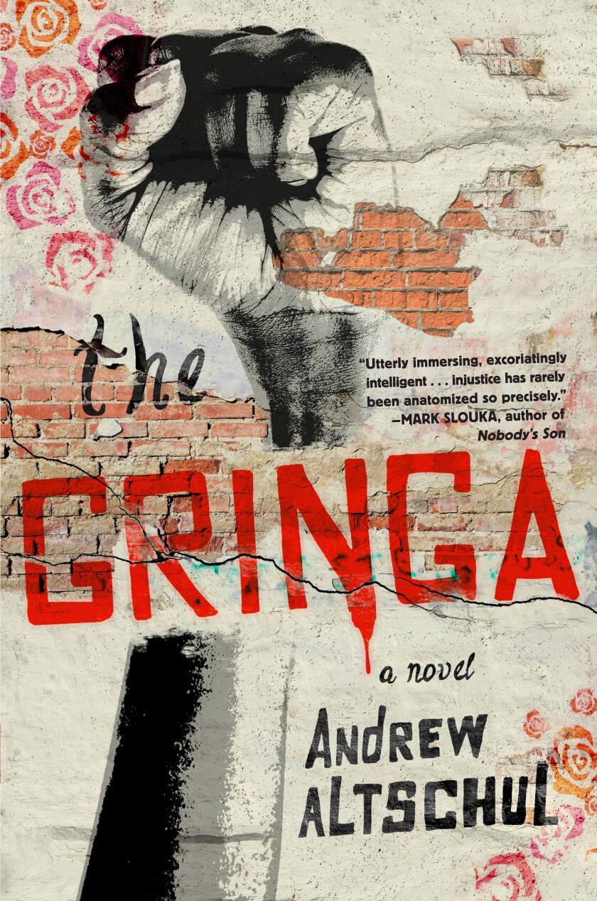 "The book jacket for Andrew Altschul's ""The Gringa."""