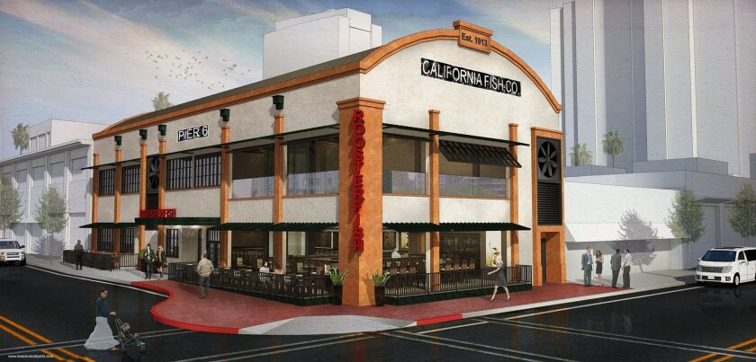 Roosterfish will be a new seafood restaurant downtown that will take over the spot now occupied by the Palm steakhouse.