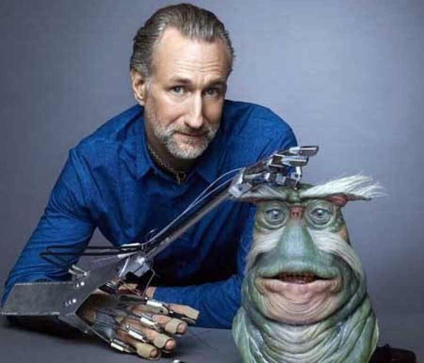"Brian Henson in ""Jim Henson's Creature Shop Challenge"" on Syfy."