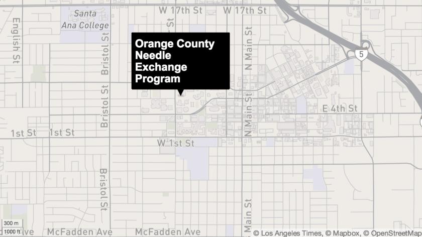 Orange County Needle Exchange Program