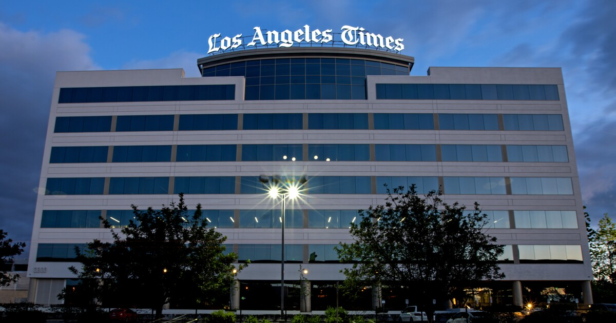 L.A. Times shaken by a summer of turmoil and scandals