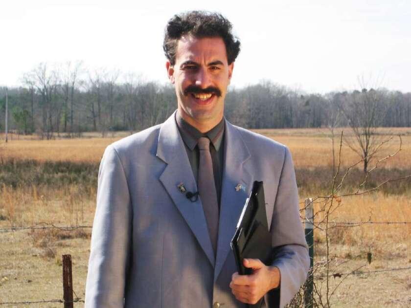 2528ff470b8 Sacha Baron Cohen: 'Borat,' 'Ali G' star makes sexy time in FX deal ...