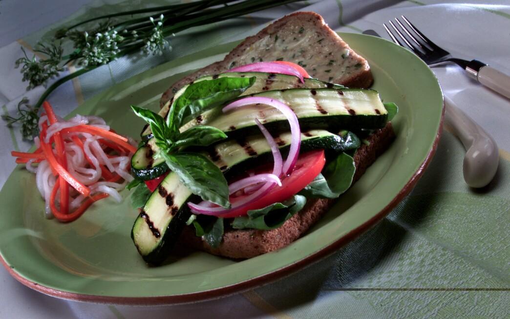Vegetarian Zucchini Sandwich