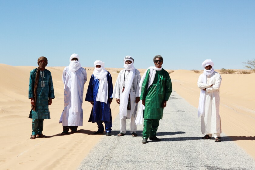 A photo of Tinariwen