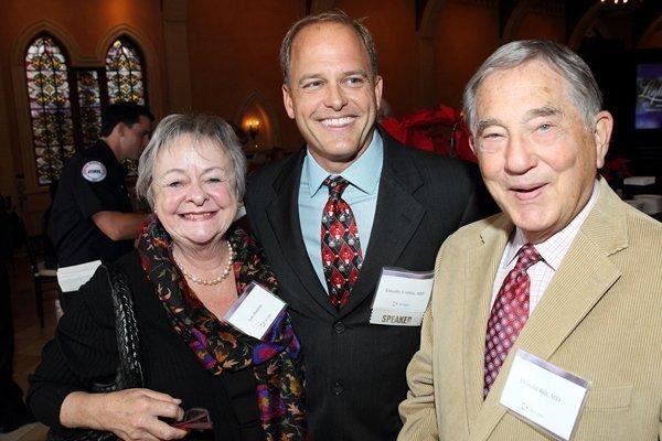 Lois Stanton, Dr. Tim Corbin, Dr. Donald Ritt
