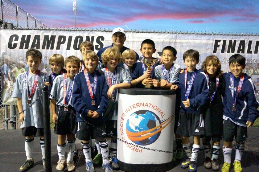 Sharks Boys U10 Blue All Star team has won the SDSC All-Star Challenge.