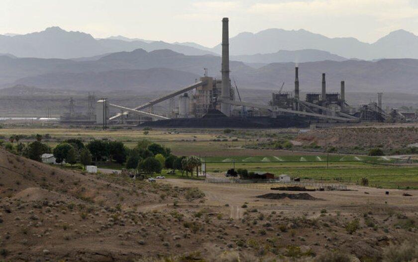 The Reid-Gardner power station, a coal-fired plant outside Las Vegas.