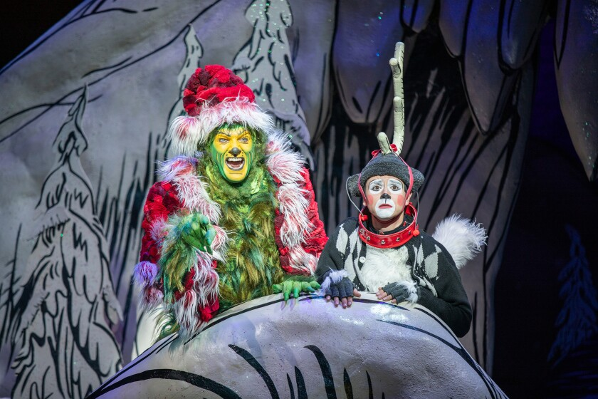 """""""Dr. Seuss's How the Grinch Stole Christmas!"""" at the Old Globe"""