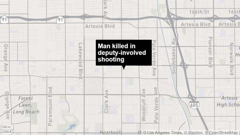Man killed in deputy-involved shooting