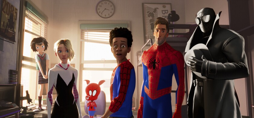 APphoto_Film Review - Spider-Man: Into the Spider-Verse