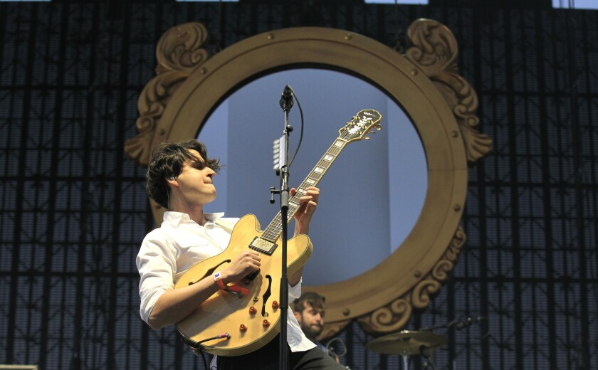Vampire Weekend to play Hollywood Bowl on Sept. 28